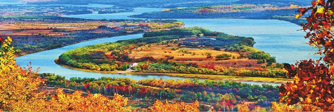 画一般的乌苏里江海一样的兴凯湖