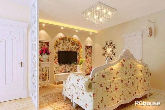 客厅田园风格装修图片 客厅设计效果图