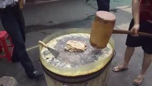 视频:韶山纯手工姜糖的做法