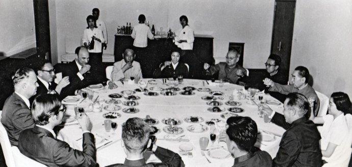 Image result for 毛主席回见尼克松基辛格 洛德