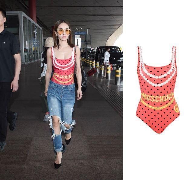 蔡依林穿泳衣上街 韩国女星火辣超模上街这样穿! 时尚潮流 第2张