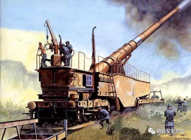 脚蹬风火轮,手持霹雳棒,我不是哪吒和悟空,我是日耳曼列车炮!
