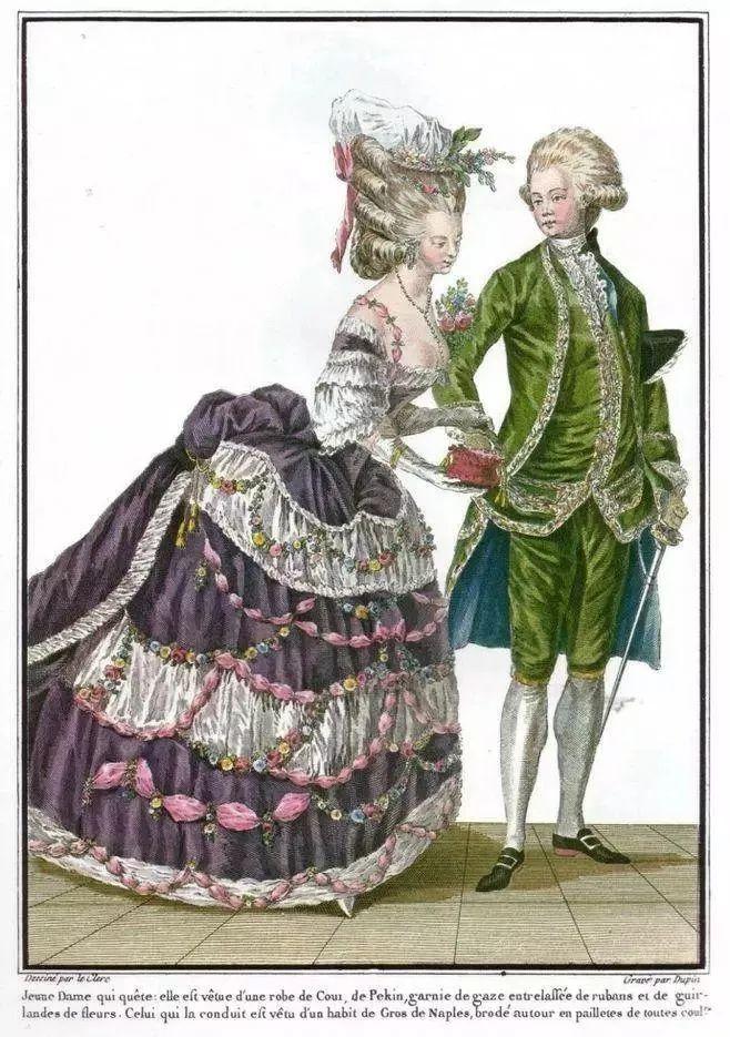 18世纪欧洲宫廷_婚纱简史:古代欧洲少女的公主梦_凤凰资讯