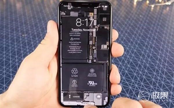 超酷iphone x透視壁紙發布,極客專屬!