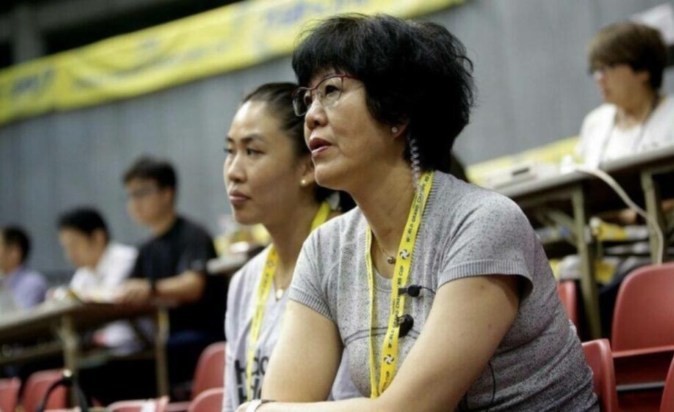 Lang ping remote control women's volleyball team won for