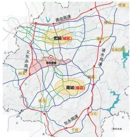 金华市市区地图面积