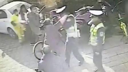 多地警察遭遇暴力抗法 公安部派工作组看望受伤警察
