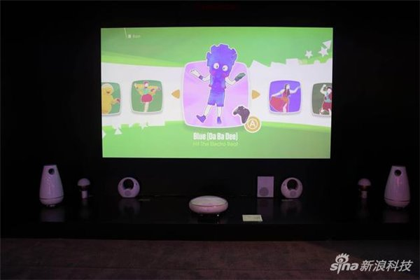 三色影院_长虹发布三色4k激光影院:比单色投影色域提升60%