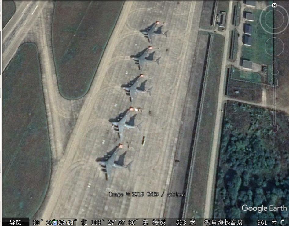 卫星图显示中国空军新增3架运20服役 多改型或在研