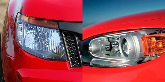 疝气灯和led灯区别_技术篇|LED、卤素、疝气大灯的区别和性能比较_凤凰网汽车_凤凰网