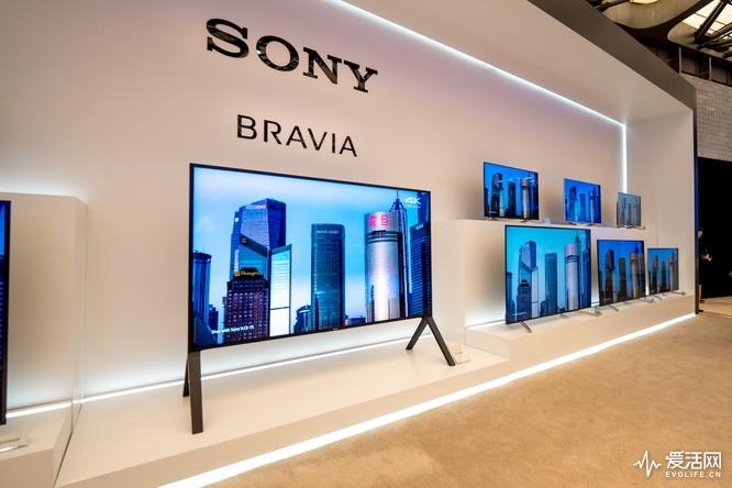 雷击中央电视�9f�x�_除了a8f,索尼awe2018展台还展示索尼2018春季电视新品x9000f,x85f