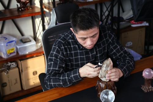 """水晶物语创始人张华东:""""我做珠宝,没有套路,只有真诚"""""""