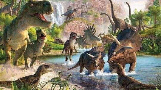 恐龙世界_奇幻神秘的恐龙世界, 是多少人儿时梦寐以求的向往, 那里生活着凶悍