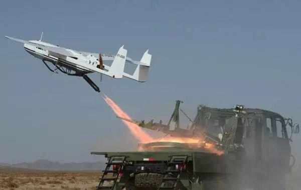 206無人機,這樣的升級,使得我軍旅級單位的偵察縱深能達到100公里以上圖片