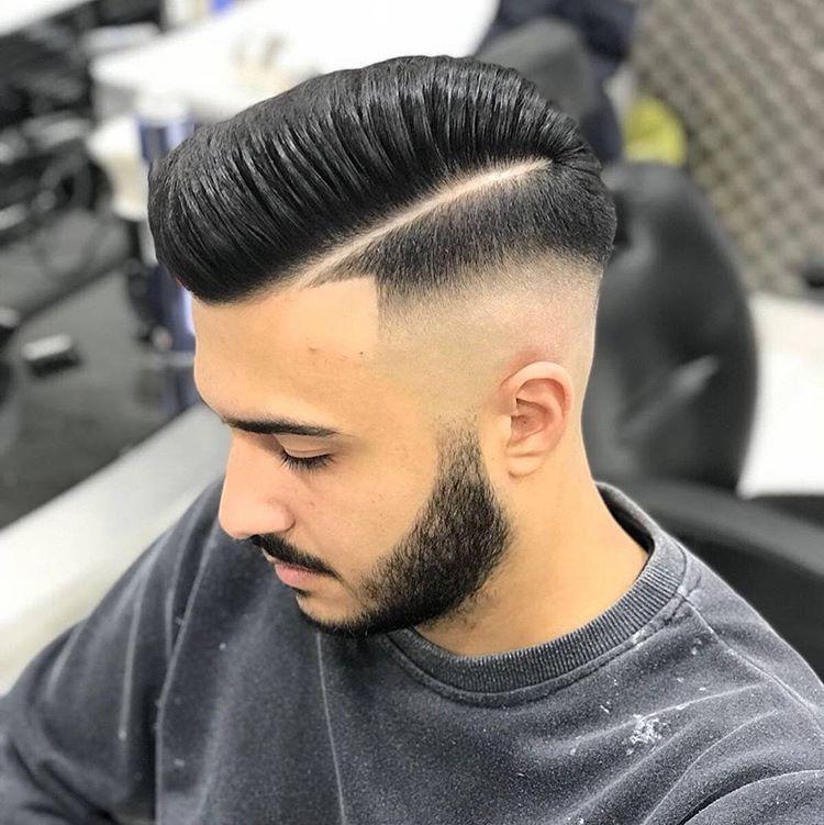 欧美28分油头发型图片_美发大师剪油头,发型确实不一般