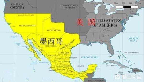 危地马拉移民_美墨战争中墨西哥几乎亡国,美国_地图分享