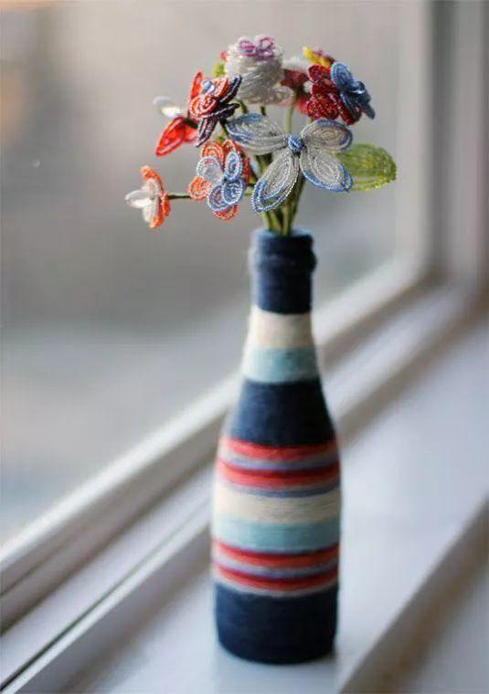 變廢為寶!4個有趣的花瓶diy圖片