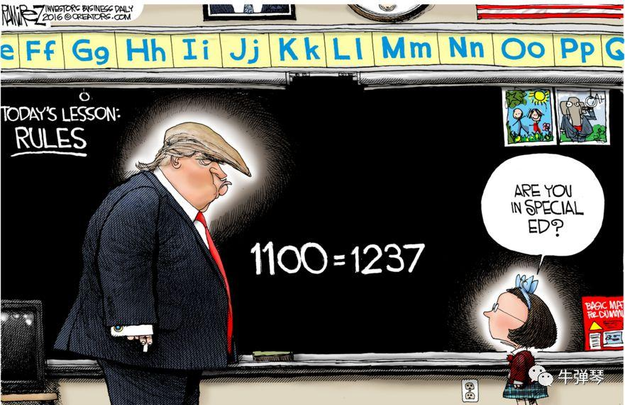 特朗普居然关心A股了,不小心暴露了自己数学水平