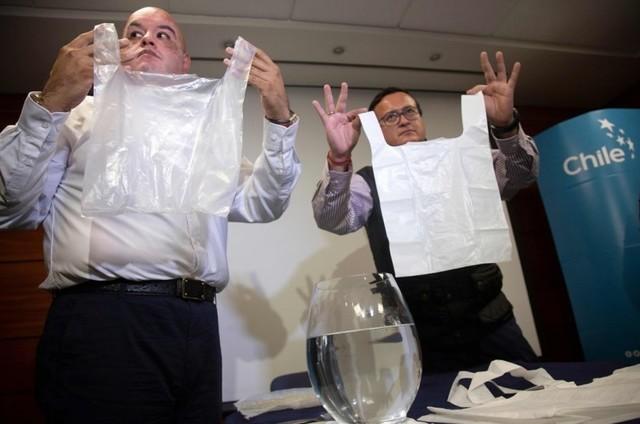 塑料袋換了新配方 可溶于水還能泡水喝
