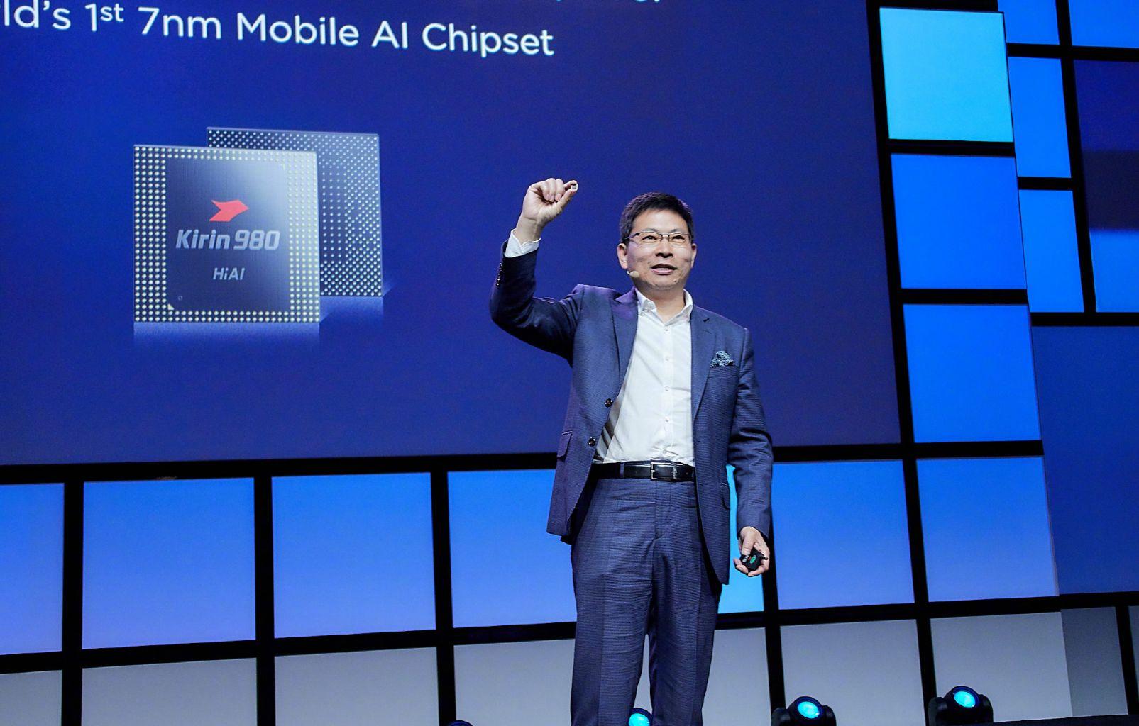 拿下六项世界第一 华为最强麒麟980芯片发布
