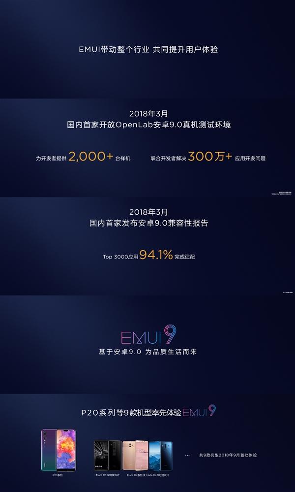 华为正式发布EMUI 9.0 国内首发安卓9.0的照片 - 3