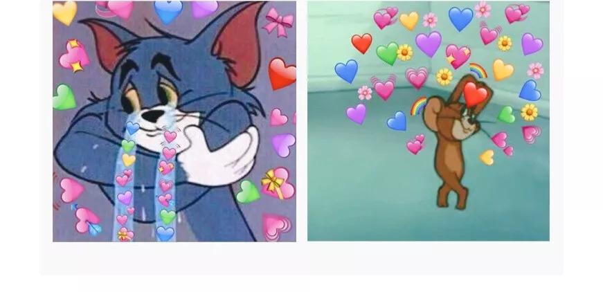 動漫 貓和老鼠 頭像情侶