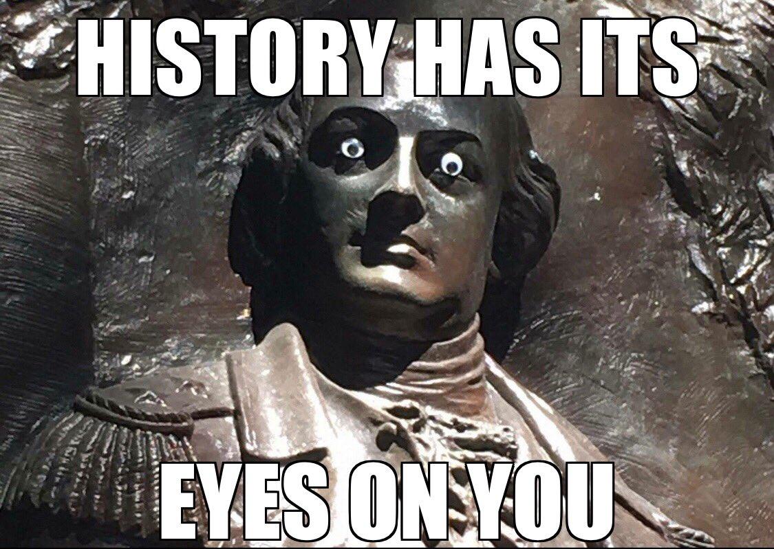 历史的双眼正注视着你 - 老外也爱在旅游景点乱涂乱画 英语老师维多多 第1张